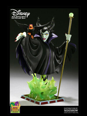 Rare Disney Showcase Collection Maleficent Bust Grand Jester Prototype Statue