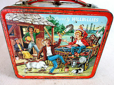 Vintage 1963 The Beverly Hillbillies metal lunch box by Aladdin