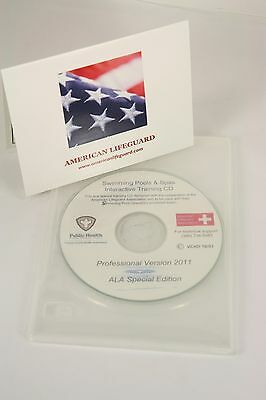 American Lifeguard Association Swimming Pool & Spa Operators License Training CD