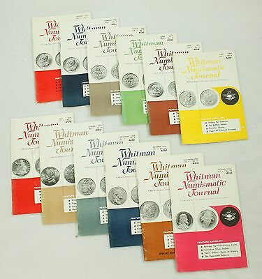 Whitman Numismatic Journal Complete Collection 1964 Vintage Coin Catalog Lot