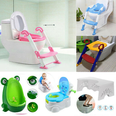 Baby Child Toddler Kids Training Toilet Potty Trainer Urinal Seat Chair Ladder