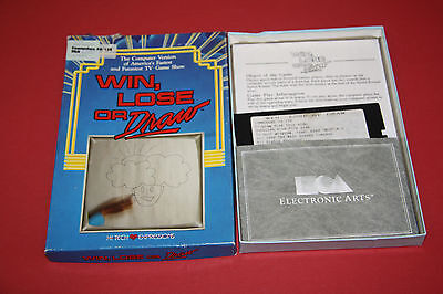 Win Lose or Draw - Vintage Commodore 64 Video Game Original Software Box