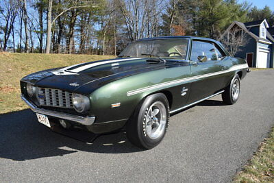 1969 Chevrolet Camaro  1969 Fathom Green Camaro COPO 427cid - 425hp 4 Speed Rare Pristine car
