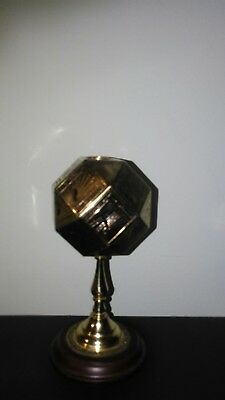 Franklin Mint - Polyhedral sundial, 24 carat plated