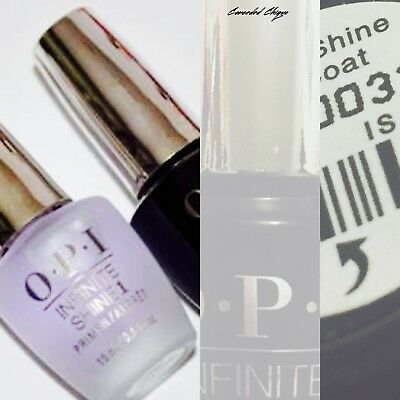 OPI Nail Polish Lacquer Infinite Shine 15ml Top Coat Free and Safe Postage