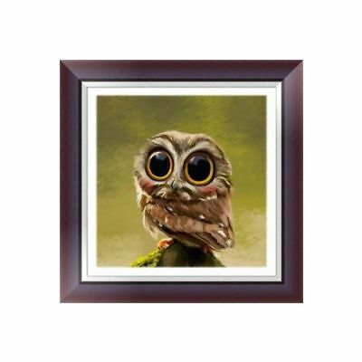 Lovely Owl DIY 5D Diamond Embroidery Painting Cross Stitch Art Craft Home Decor