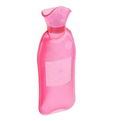 Claret 500ml Travel Rubber Hot Cold Water Bottle Bag Warmer Relaxing Therapy