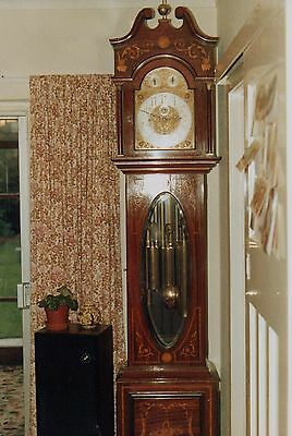 Edwardian Long Case Clock