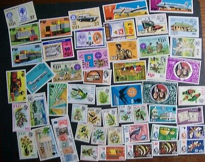 Fiji - 189 different stamps, nice collection, many MINT (9I)