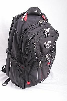 High Sierra Elite NEW with tags Backpack RED BLACK BLUE GRAY FREE Shipping