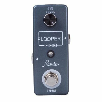 Rowin LOOPER Electric Guitar Effect Pedal Unlimited Overdubs Undo/ Redo Function