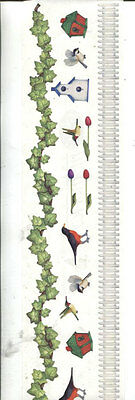 Scrapbooking - Leaves And Birds  Peel Off Stickers