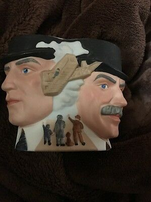 Vintage Avon 1985 Collector Character Aviation Mug The Wright Brothers
