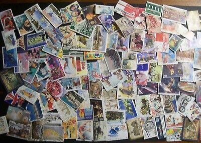 Malta - 420 different stamps, nice used collection including modern (21E)