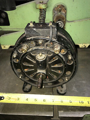 1896 Holtzer Cabot induction repulsion motor Rare AC motor