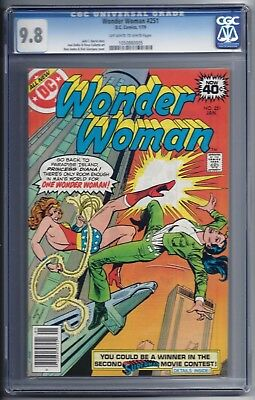 Wonder Woman 251 CGC 9.8  DC Comics 1979  Death of Orana  Classic Storyline
