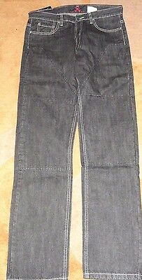Hornee Jeans Black W SA-M7 Motorcycle Jeans Size 36
