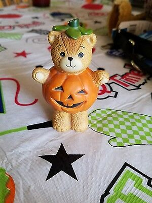 lucy and me bears, lucy riggs enasco pumpkin bear