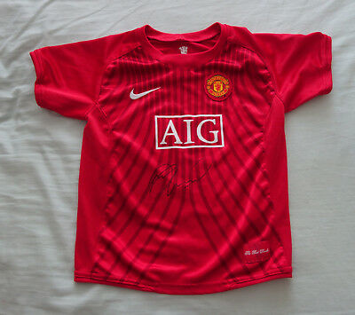 Marcus Rashford Signed Manchester United Football Club Shirt & COA