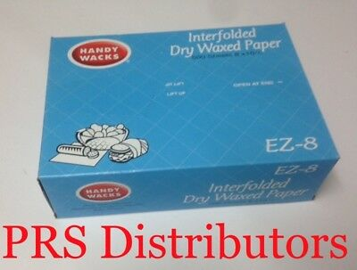 """BEST QUALITY 8"""" x 10.75"""" Deli Dry Waxed Paper Pop-Up Food Sandwich 500 Sheets"""