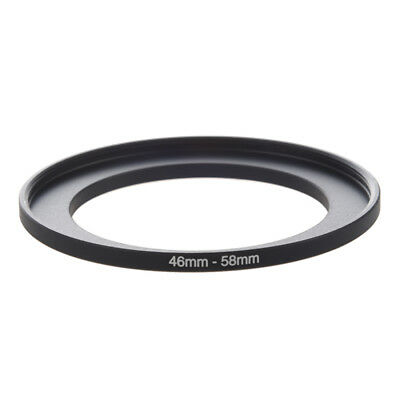 Camera Repairing 46mm to 58mm Metal Step Up Filter Ring Adapter C7N9 D4X3 O4V6