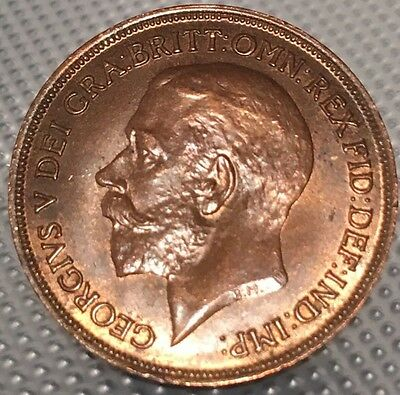 1916 one penny - Recessed Ear Variety