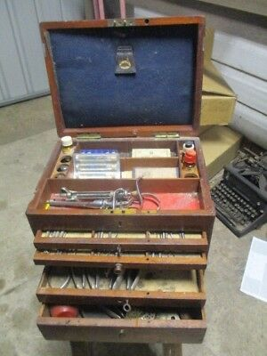 Rare 1940s? Dental Box full of Dental Equipment