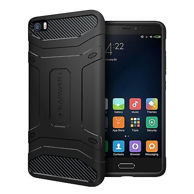 KAPAVER Tough Rugged Case Cover-Solid Shock Proof Case For Xiaomi Mi5