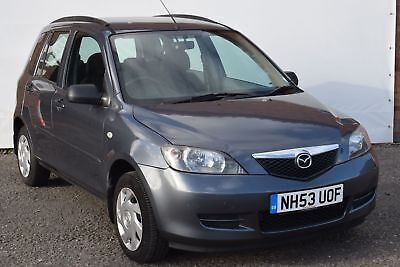2003 53 Mazda 2 1.4 Petrol Ts **sold As Seen Spares Or Repairs**