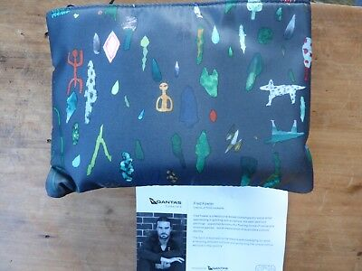 Qantas Business Class Mens Amenity Bag By Fred Fowler Brand New