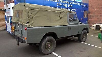 series 2a ex military Land Rover