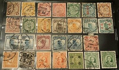 Rare Amazing CHINA stamps accumulation Imperial to republic LOT 140