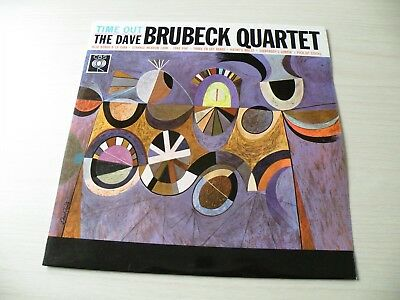 The Dave Brubeck Quartet Time Out Lp Uk Cbs 1959 Mono Early Press Top Copy Jazz