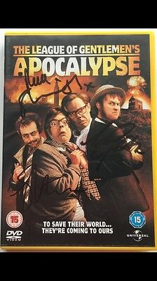 The League Of Gentlemen's Apocalypse DVD Signed Cover