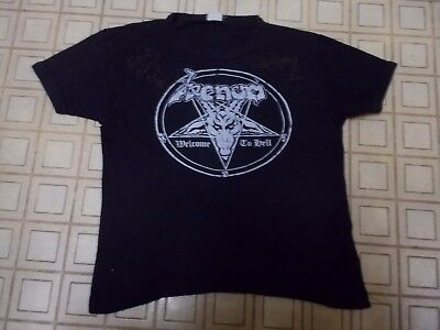 VENOM Vintage Signed 80s Welcome To Hell T-Shirt