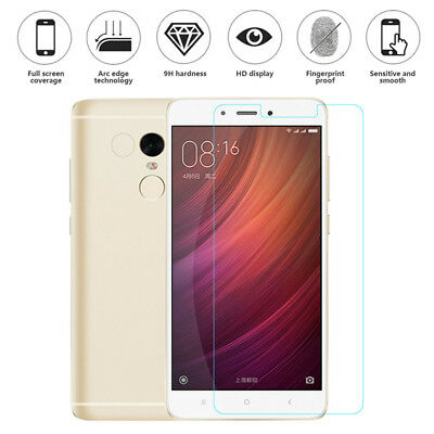 2-PACK Ultra Thin Real 100% Temper Glass Screen Protector For Xiaomi Redmi Note4