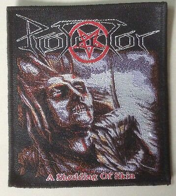 PROTECTOR WOVEN Patch cemetery Death entombed dismember carcass venom