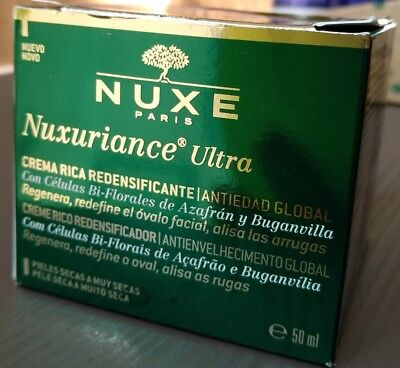NUXURIANCE ULTRA  CREME RICHE REDENSIFIANTE Anti-âge global 50ML NEUF 07/2018