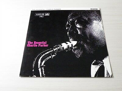 Charlie Parker The Essential..... Lp Uk Hmv / Verve 1961 Early Press