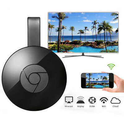 Miracast 1080P Mirascreen WiFi Display Dongle Receiver FOR Google Chromecast 2