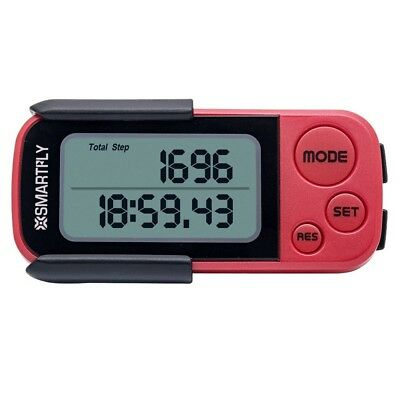 SMARTFLY P112 3D Pedometer Outdoor Sports Step Counter Calories Fitness Sport Tr