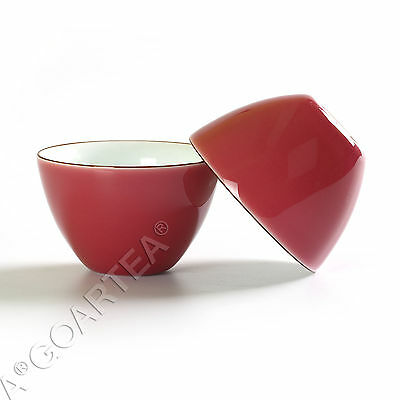62ml Top Fashion GongFu Tea Porcelain Ceramic JingDe Chinese Pink teacup tea Cup