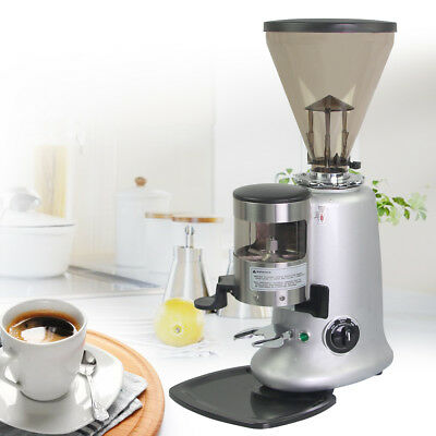 Commercial Coffee grinder electric taper pulverizer bean extract powders adjust