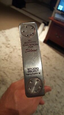 Scotty cameron studio select newport 2
