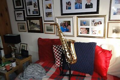 Conn Alto Saxophone with case and stand