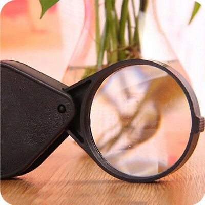 10X Mini Folding Jewelry Magnifier Reading Magnifying Loupe Glass Lens N1