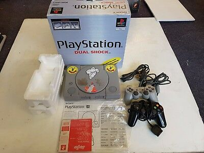 Sony Playstation 1 Console, Boxed, Tested, With 2 Controllers, Trusted Ebay Shop