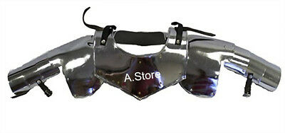 Armor Steel Gorget And Neck Shoulder Armor One Size Fits Most