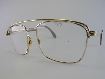 Vintage Lizon Captain-DP Gold Filled Eyeglasses Size 52-21 140 Made in Germany