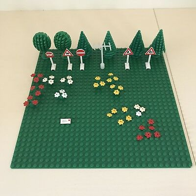 Vintage Lego Trees Flowers Signs Letter Antenna